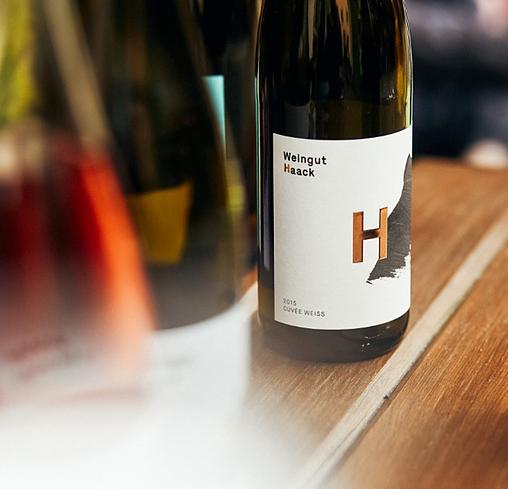 """Das """"H"""" in Nahe, steht für Weingut Haack"""