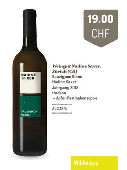 Sauvignon Blanc | Weingut Nadine Saxer