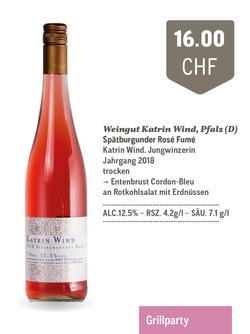 Rosé Spätburgunder Fumé | Weingut Katrin Wind