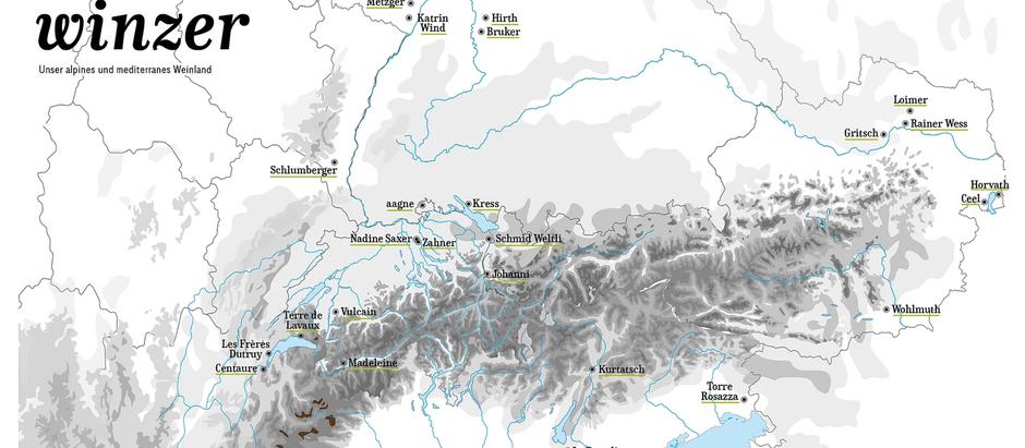 Alpine Weinkultur in Zürich Dietlikon und Wallisellen