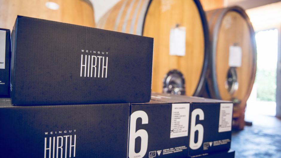 Wein vom Weingut Hirth löst zwar keine Probleme, Milch aber auch nicht – Kartoffeln hingegen schon.
