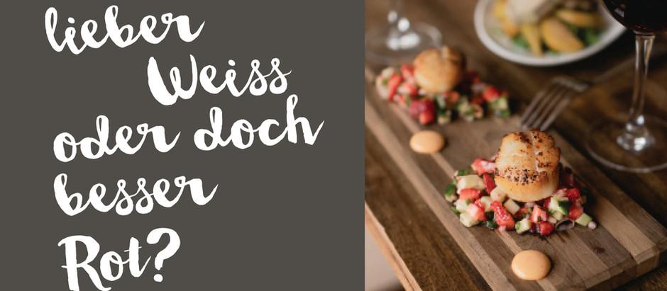 Rot- oder Weisswein-pairing by Oktoberweine