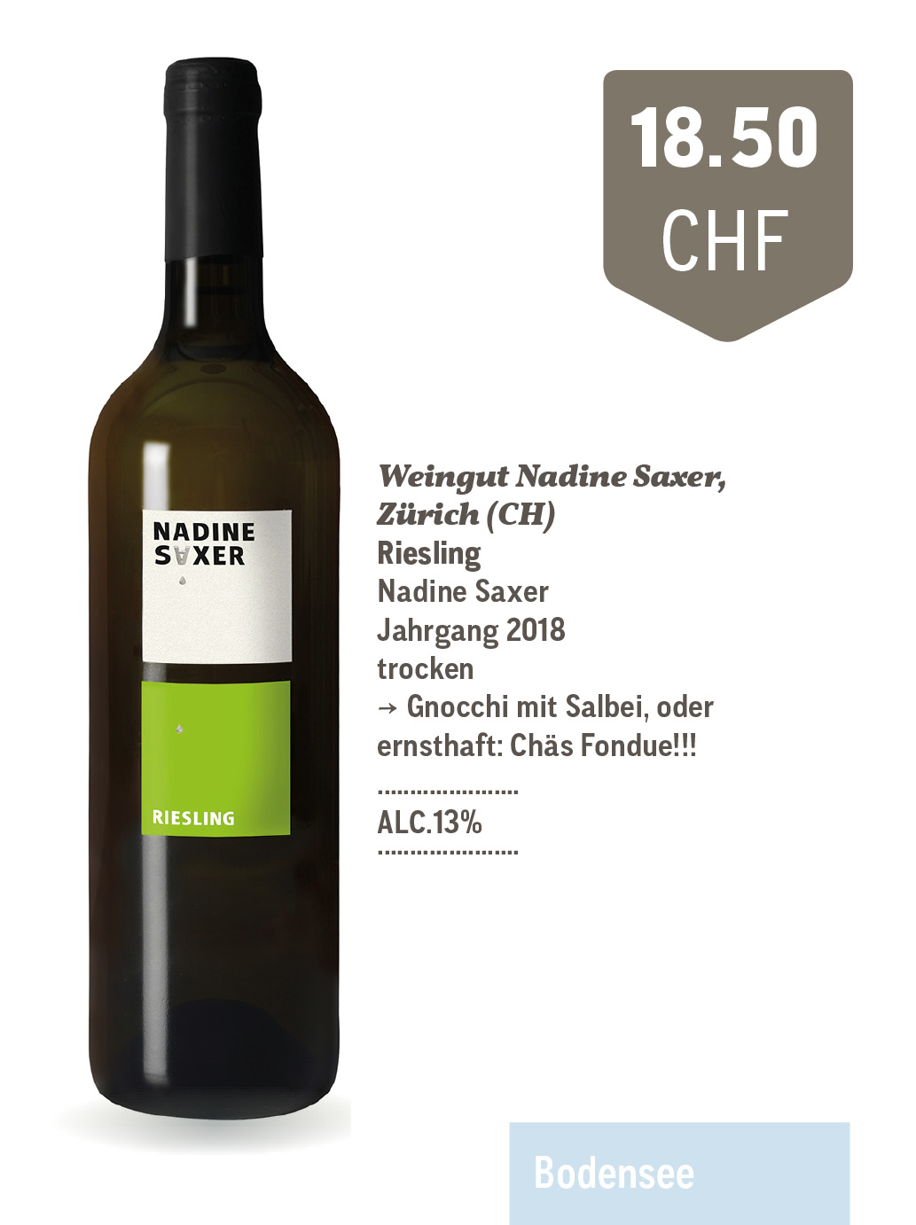 Riesling | Weingut Nadine Saxer