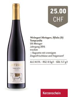 Tempranillo | Weingut Metzger