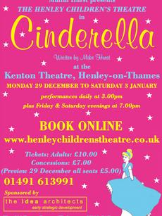Henley Childrens Theatre, Cinderella