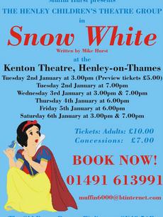 Henley Childrens Theatre, Snow White
