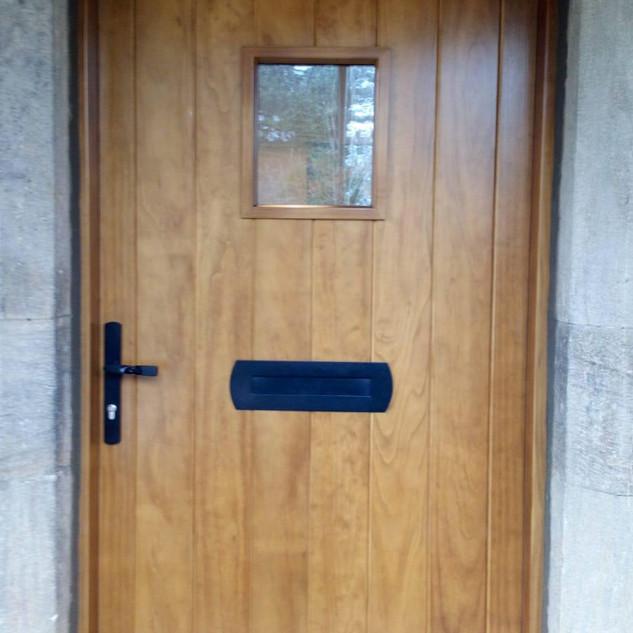 Accoya stained door