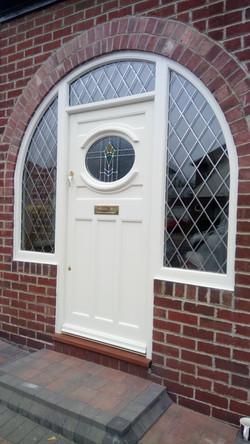 arched door frame