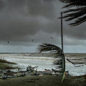 Bekanntschaft mit einem ungebetenen Gast - Der Zyklon Sarai trifft auf Fidschi
