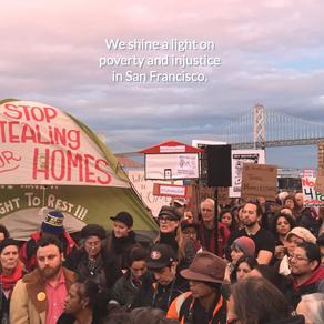 San Francisco - In Zelten lebt es sich nicht leicht