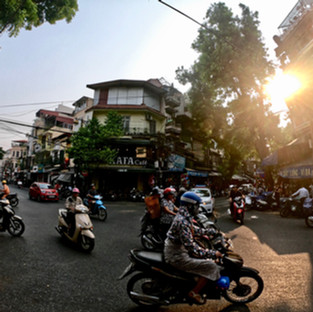 Hanoi - Von Mopeds, Street Food und Johann Sebastian Bach.