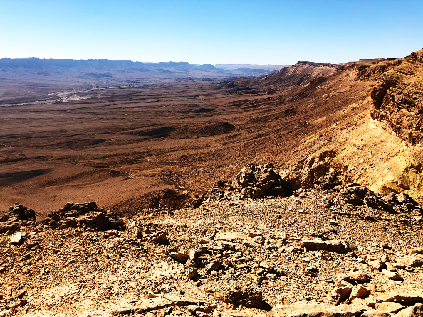 MAKTESH RAMON CRATER, ISRAEL