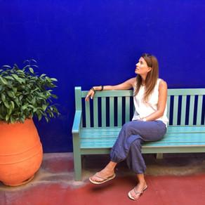 Marokko - Ganz schön blau. Danke Yves.
