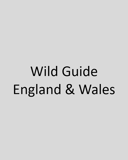 Wild Guide England& Wales