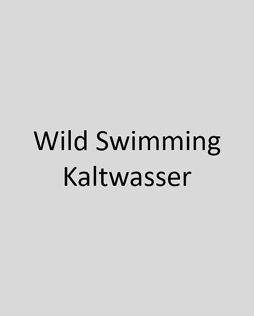 Wild Swimming Kaltwasser