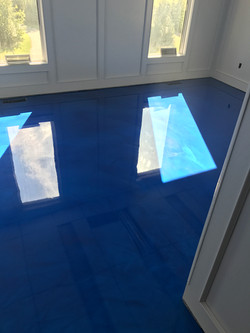 Blue Metallic Epoxy