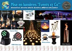 Mise en lumieres Events & Co°