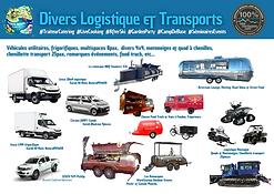 La logistique, les vehicules