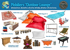 Le mobilier Outdoor Lounge & Co°
