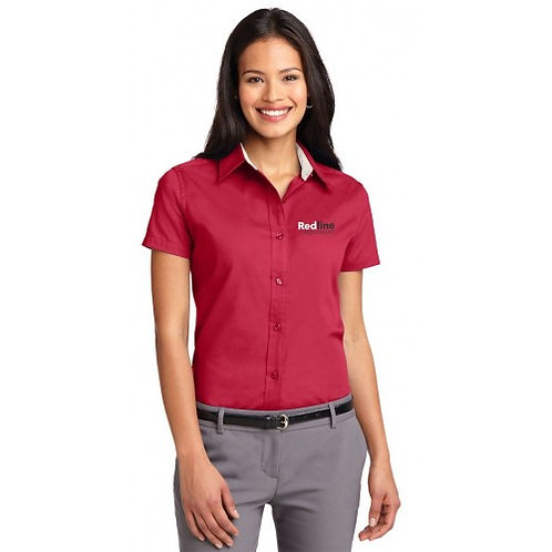 Port Authority Ladies Easy Care Short Sleeve (TCERE37)