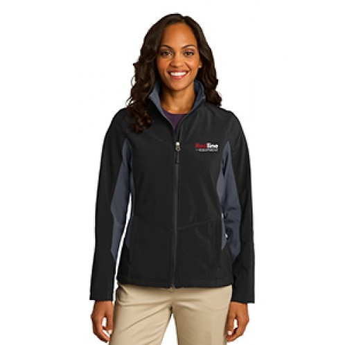 Port Authority Ladies Colorblock Soft Shell Jacket