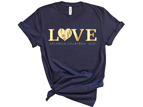 Love Volleyball - BC3001 - Navy