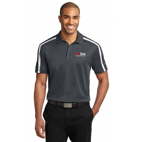 Port Authority Men's Silk Touch Performance Colorblock Stripe Polo