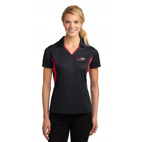 Sport-Tek Ladies Side Blocked Micropique Polo (TCERE42)