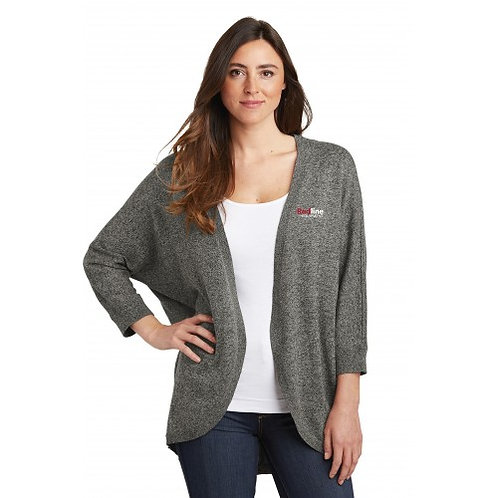 Port Authority Ladies Marled Cocoon Sweater