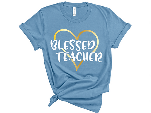 Blessed Teacher - BC3001 - Steel Blue