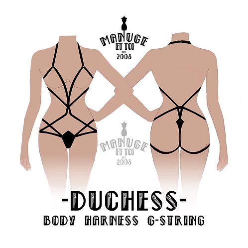 Duchess Body Harness G-String