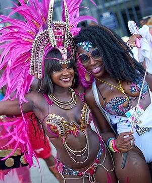 Miami Carnival Makeup