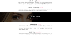 Sarah Cas Graphic Design Website Design Beauty PaRLR 05