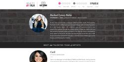 Sarah Cas Graphic Design Website Design Beauty PaRLR 02