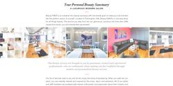 Sarah Cas Graphic Design Website Design Beauty PaRLR 04