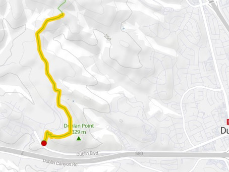 Dublin Hills, Calaveras Ridge - Beginner Ride