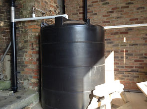 Hazelwood Farm B&B rainwater harvesting