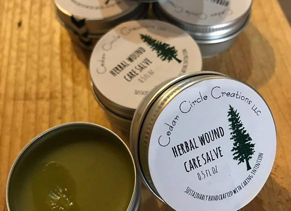 Herbal Wound Care Salve