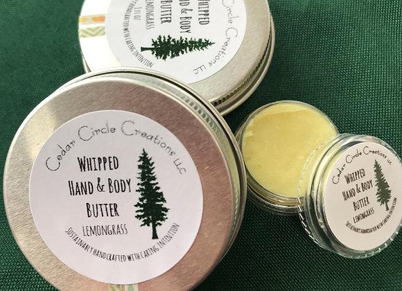 Whipped Hand and Body Butter - Lemongrass 1 oz