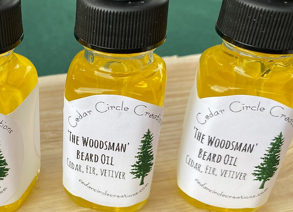 Beard oil: The Woodsman
