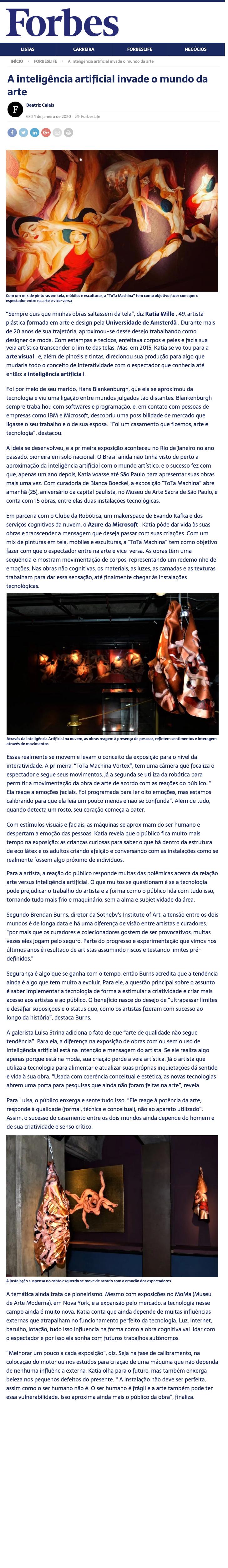 Forbes Brasil Editorial