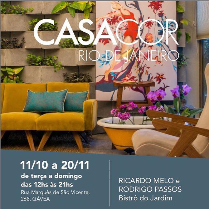 Casa Cor - convidado por Ricardo Melo e Rodrigo Passos