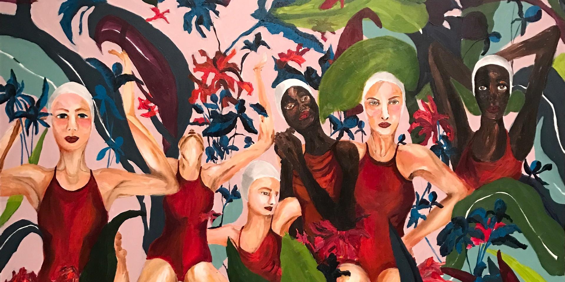 FluxoFloração I. - Left panel (triptych)