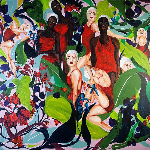 Right panel of triptych Fluxofloração