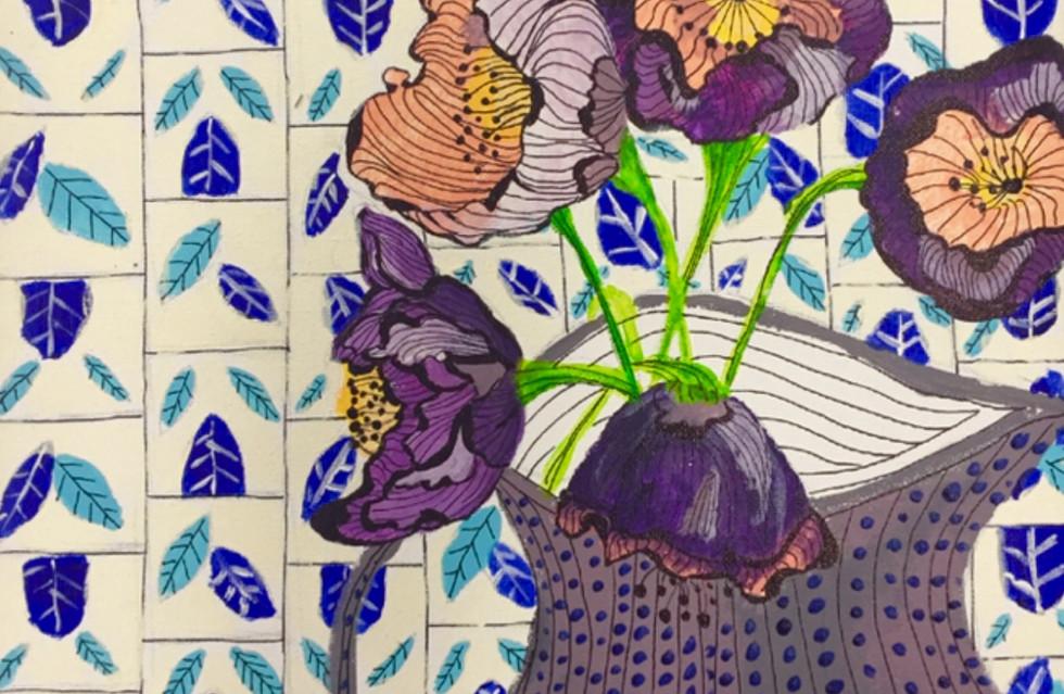 Florada Azulejos