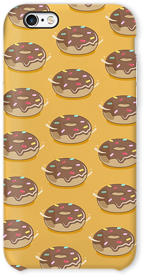 Case Donut Yellow