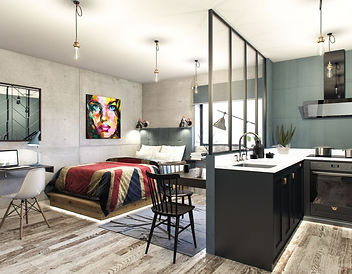 Studio in Aura student accommadation property investment in Liverpool UK
