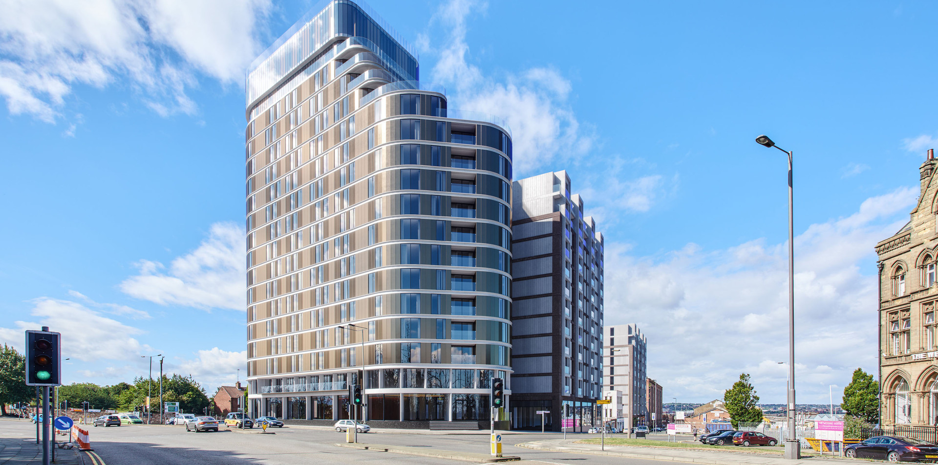 Parliament Square Resdential Property Investment in Liverpool UK