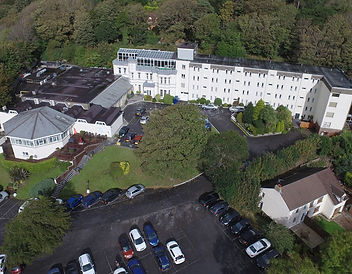 Stradey Park Hotel & Spa aarial view of the grounds - hotel investment