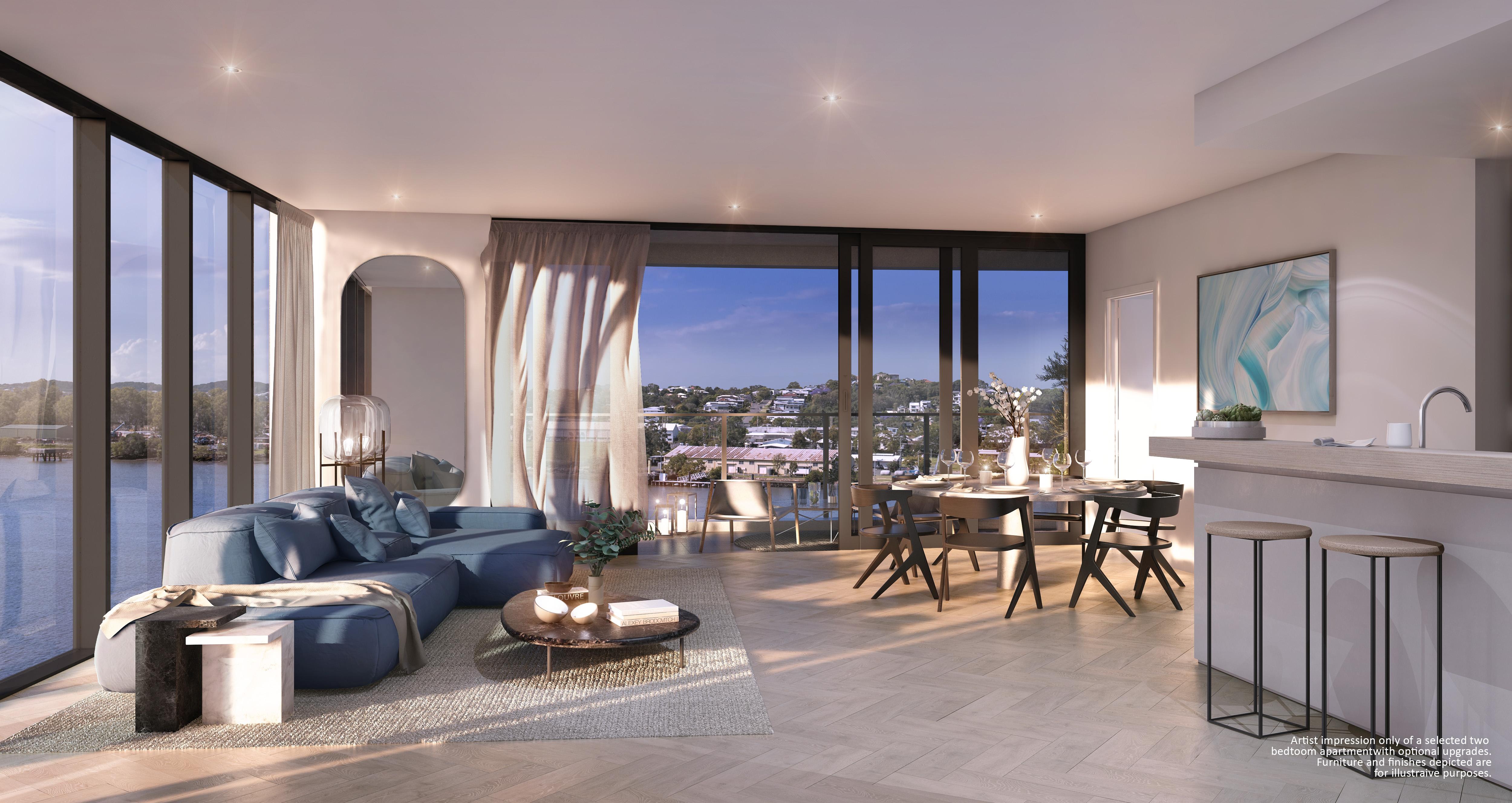 2N Living to balcony (R4) light